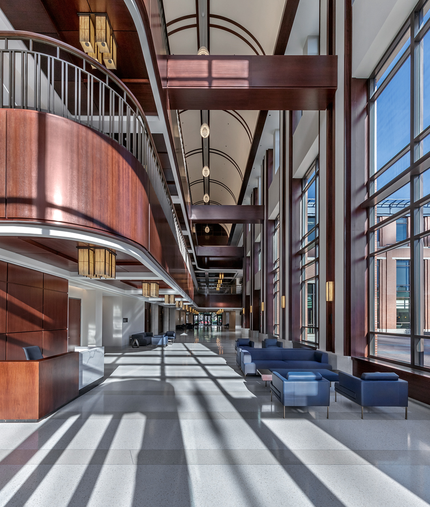 Schaefer College Hall Lobby​​