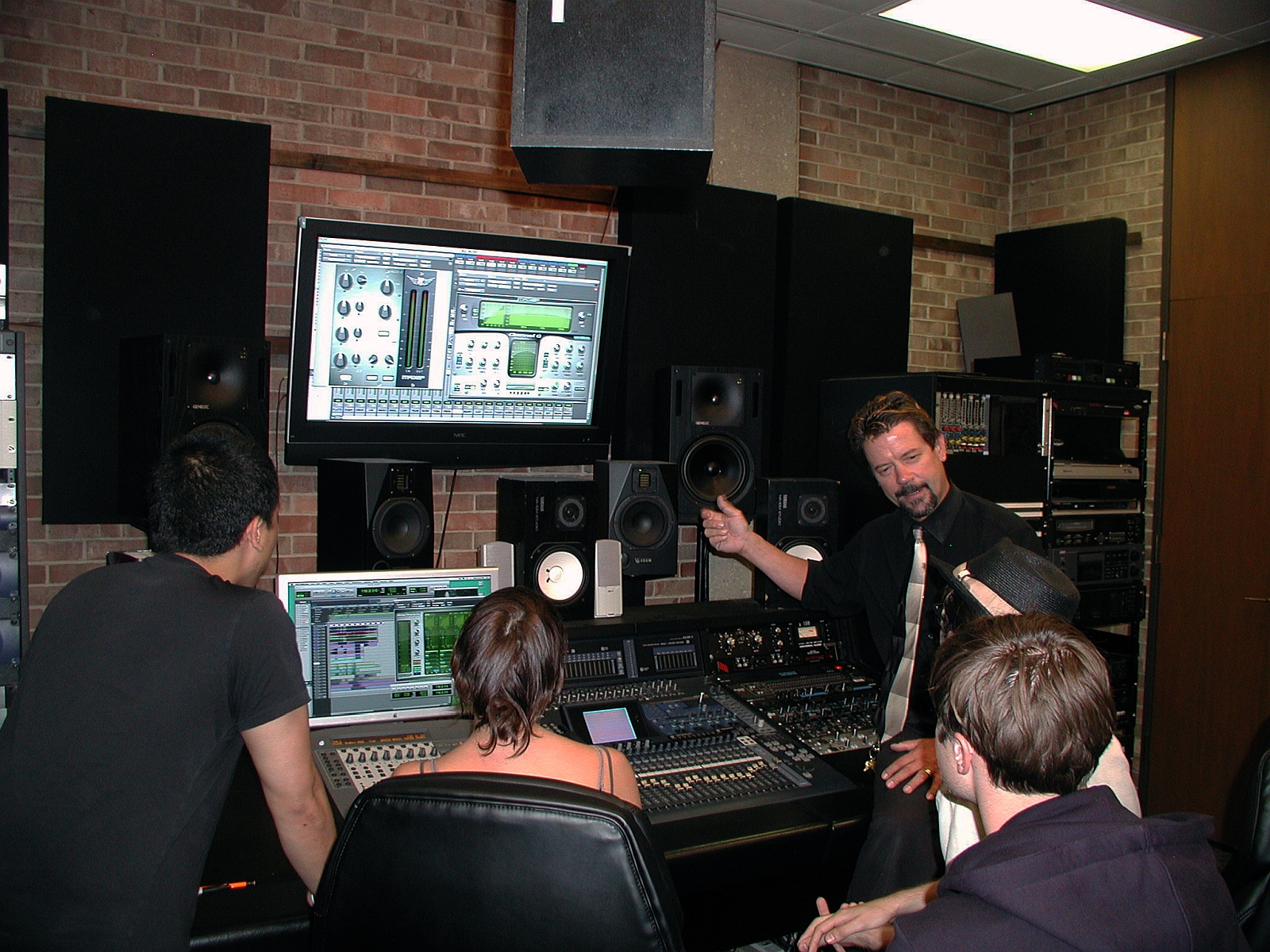 Audio recording home study